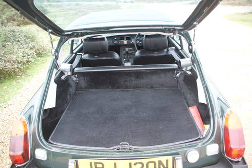 1975 MGB GT Jubilee For Hire (picture 5 of 6)