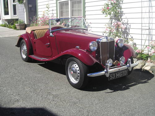 MGTD 1953 Roadster LHD For Sale (picture 1 of 6)