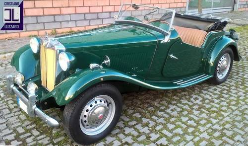 1952 NICE AND READY TO USE MG TD/ 2 MIDGET For Sale (picture 1 of 6)