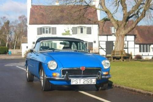 1974 Rent a classic chrome MGB convertible in the Cotswolds For Hire (picture 6 of 6)