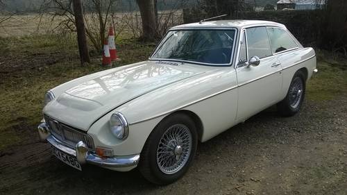 1969 MGC GT 3liter 4-speed with overdrive For Sale (picture 1 of 6)