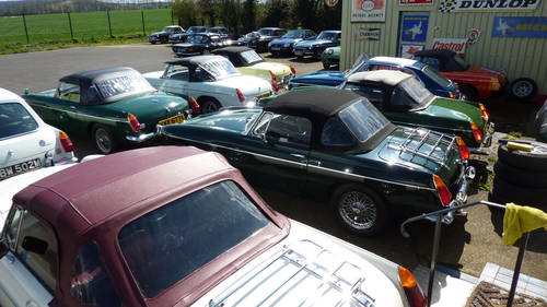 1970 The finest selection of MGA/MGB/MGC/V8 in the UK. For Sale (picture 1 of 3)