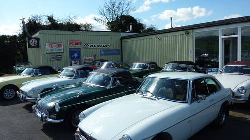 1970 The finest selection of MGA/MGB/MGC/V8 in the UK. For Sale (picture 2 of 3)
