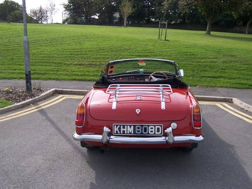 1966 MGB Roadster SOLD (picture 4 of 6)