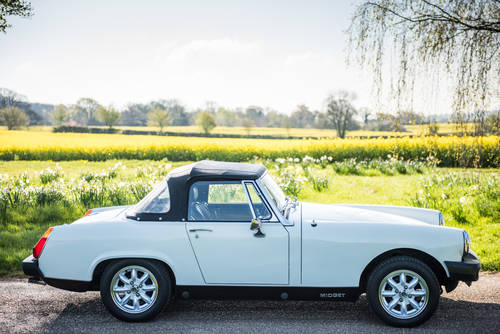 1979 Self Drive Hire of cute little MG Midget For Hire (picture 1 of 4)