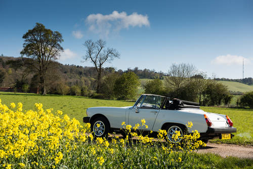 1979 Self Drive Hire of cute little MG Midget For Hire (picture 2 of 4)