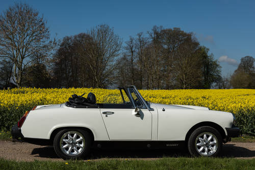 1979 Self Drive Hire of cute little MG Midget For Hire (picture 3 of 4)