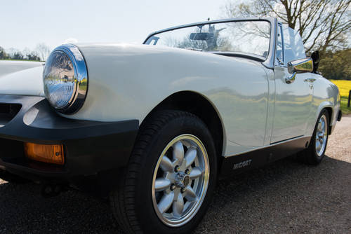 1979 Self Drive Hire of cute little MG Midget For Hire (picture 4 of 4)