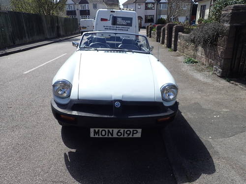 1976 MG B For Sale (picture 4 of 5)