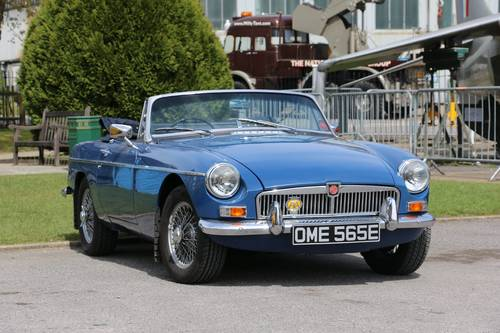 1967 MG B Roadster for hire in and around London For Hire (picture 1 of 6)