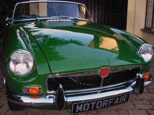 1973 MGB ROADSTER LEATHER TRIM For Sale (picture 1 of 6)