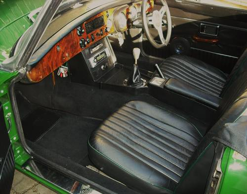 1973 MGB ROADSTER LEATHER TRIM For Sale (picture 4 of 6)