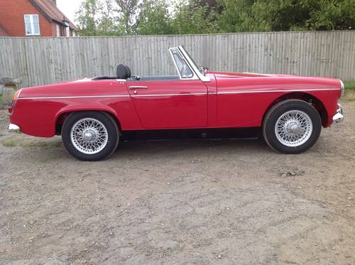 1966 Sorry now sold. mmaculate fully restored MG Midget MkII  For Sale (picture 2 of 6)