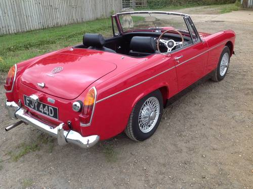 1966 Sorry now sold. mmaculate fully restored MG Midget MkII  For Sale (picture 3 of 6)