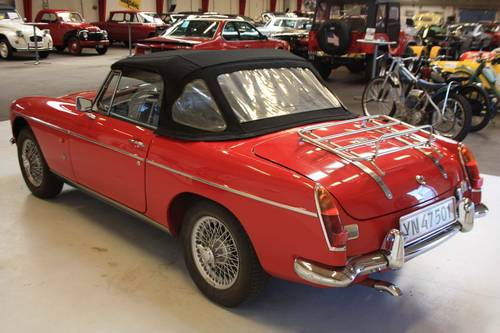 1968 MG MGB Mark II For Sale (picture 3 of 6)