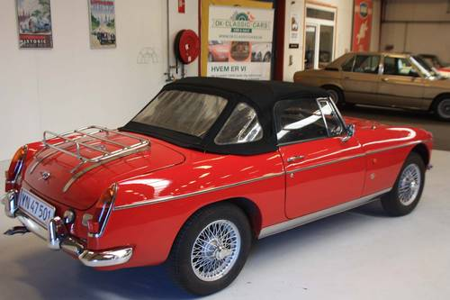 1968 MG MGB Mark II For Sale (picture 4 of 6)