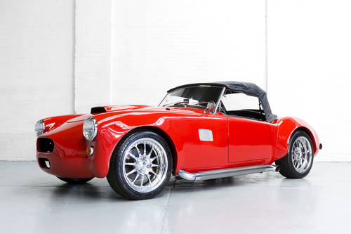 1957 Red MG MGA AC Cobra Custom Convertible 4.3 V6 LHD 240bh For Sale (picture 3 of 6)
