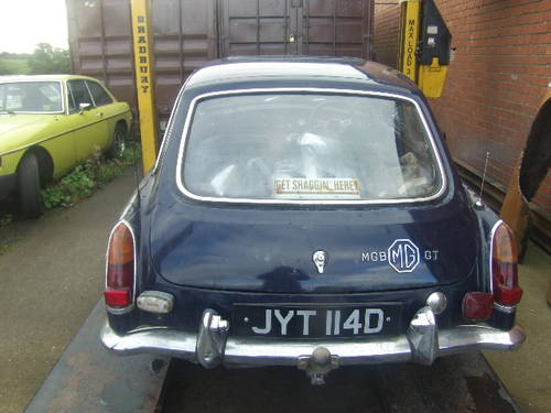 1966 MGB GT MK1 for sale For Sale (picture 3 of 4)