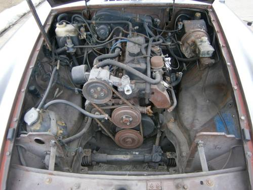 MG B - 1980 - Restoration project - LHD For Sale (picture 6 of 6)
