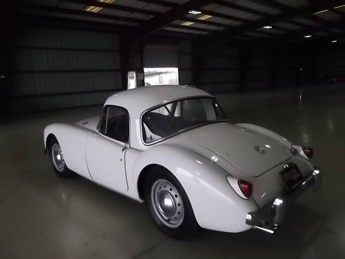 1959 MGA Coupe 1500 Restored 2010 LHD Fresh Import For Sale (picture 1 of 6)