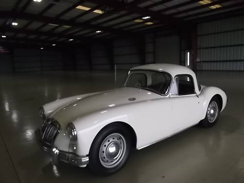 1959 MGA Coupe 1500 Restored 2010 LHD Fresh Import For Sale (picture 2 of 6)