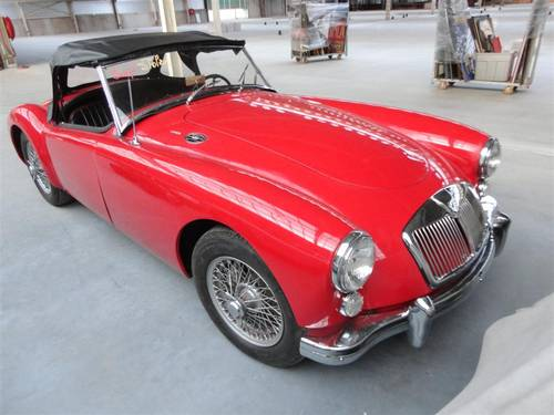 1961 MG A 1600 Roadster SOLD (picture 4 of 6)
