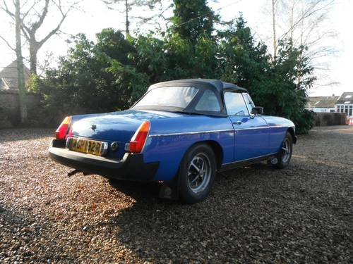 1976 MG B Roadster SOLD (picture 3 of 6)