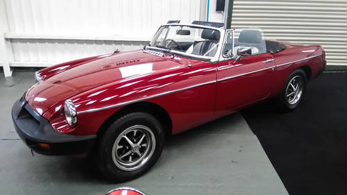 1978 MGB Roadster in lovely original condition. NOW SOLD Wanted (picture 3 of 6)