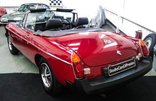 1978 MGB Roadster in lovely original condition. NOW SOLD Wanted (picture 4 of 6)
