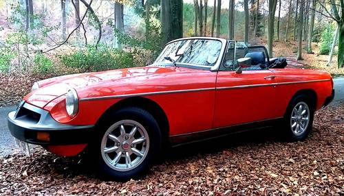 1979 Classic MGB Roadster:  - Christmas Gift Vouchers For Sale (picture 3 of 6)