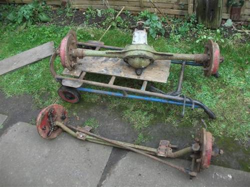 1930 Axles for MG M Type. For Sale (picture 1 of 6)