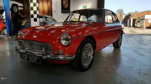 1968 Stunning and very rare MGC GT Automatic. SOLD (picture 1 of 6)