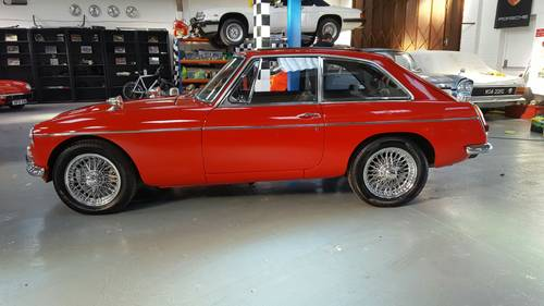 1968 Stunning and very rare MGC GT Automatic. SOLD (picture 2 of 6)