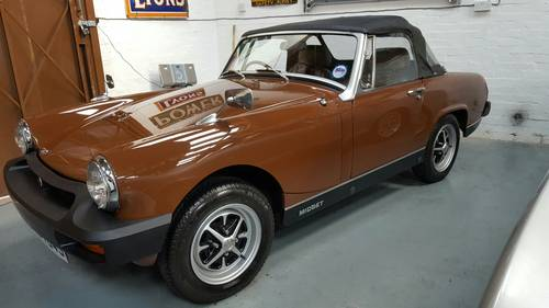 MG Midget 1500 - 1978 SOLD (picture 1 of 6)