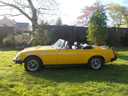 1978 MGB ROADSTER  For Sale (picture 3 of 6)