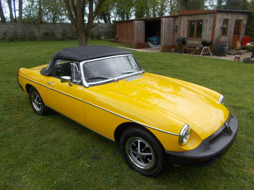 1978 MGB ROADSTER  For Sale (picture 6 of 6)