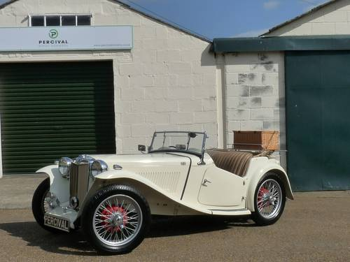 1947 MG TC, Sold SOLD (picture 1 of 6)