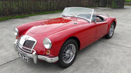 MGA 1958 ATRACTIVE PRICE  26750 euro SOLD (picture 2 of 6)