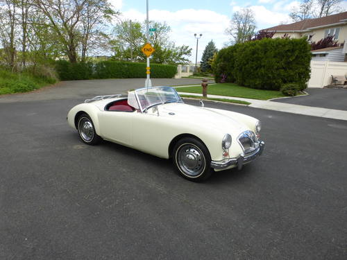 1962 MG A MK-II 1622 Two Tops Presentable Driver- SOLD (picture 1 of 6)
