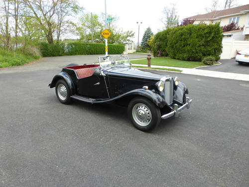 1952 MG TD Factory Original Paint Good Driver - SOLD (picture 1 of 6)