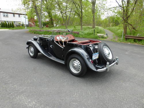 1952 MG TD Factory Original Paint Good Driver - SOLD (picture 4 of 6)