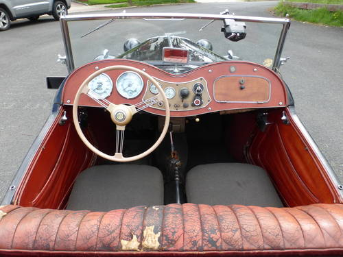 1952 MG TD Factory Original Paint Good Driver - SOLD (picture 5 of 6)