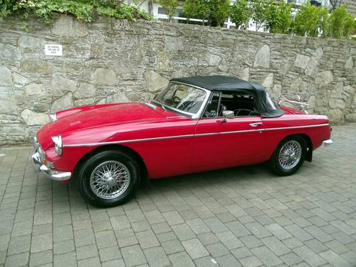 1969 MGB ROADSTER SOLD (picture 1 of 6)