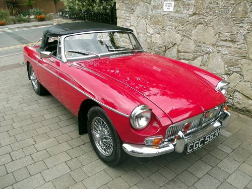 1969 MGB ROADSTER SOLD (picture 3 of 6)
