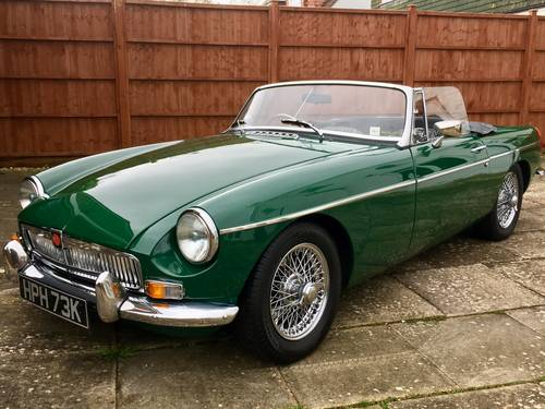 1971 MGB 1.8 Roadster SUPERB FULLY RESTORED A1  SOLD (picture 1 of 6)
