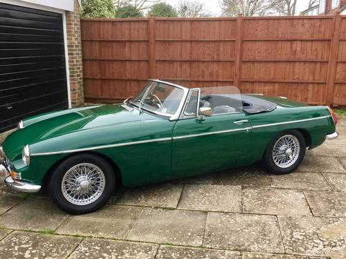 1971 MGB 1.8 Roadster SUPERB FULLY RESTORED A1  SOLD (picture 5 of 6)