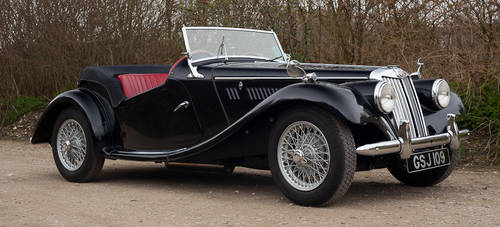 1953 MG TF 1250 upgraded to 1500 spec  SOLD (picture 1 of 6)