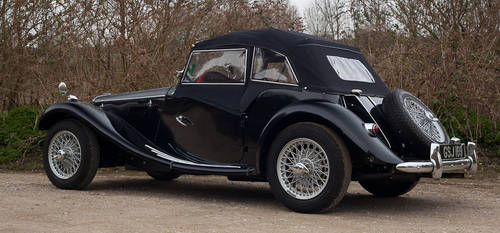1953 MG TF 1250 upgraded to 1500 spec  SOLD (picture 3 of 6)