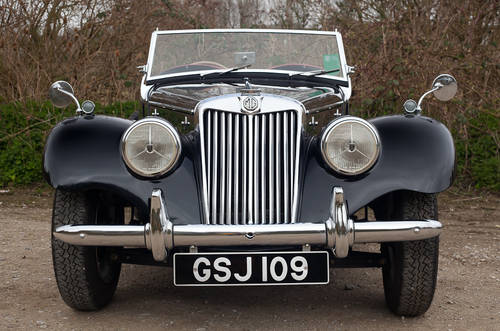 1953 MG TF 1250 upgraded to 1500 spec  SOLD (picture 6 of 6)