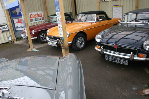 MGB 1972, 5-Speed gearbox, immaculate SOLD (picture 6 of 6)